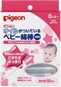 Pigeon ватные палочки с масляной поверхностью