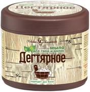 Невская Косметика Дегтярное мыло для тела и волос
