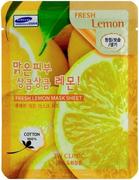 3W Clinic Fresh Lemon Mask Sheet тканевая маска для лица с экстрактом лимона