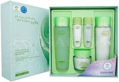 3W Clinic Snail Moist Control Skin Care Set набор для лица (крем + тоники + эмульсии)