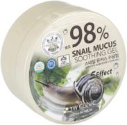 3W Clinic 98% Snail Mucus Soothing Gel гель универсальный с муцином улитки