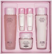 3W Clinic Flower Effect Extra Moisturizing Skin Care Set набор для лица (тонеры + эмульсии + крем)