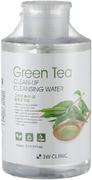 3W Clinic Green Tea Clean-Up Cleansing Water очищающая вода с экстрактом зеленого чая