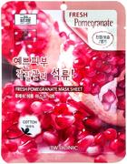 3W Clinic Fresh Pomegranate Mask Sheet тканевая маска для лица с экстрактом граната