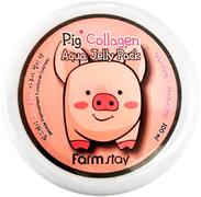 Farmstay Collagen Aqua Piggy Jelly Pack маска-желе увлажняющая со свиным коллагеном