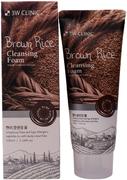 3W Clinic Brown Rice Cleansing Foam пенка для умывания на основе коричневого риса