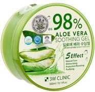 3W Clinic 98% Aloe Vera Soothing Gel гель универсальный с соком алоэ
