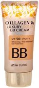 3W Clinic Collagen & Luxury Gold BB Cream BB крем для лица с коллагеном и коллоидным золотом