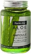 Farmstay Aloe All-in-One Ampoule ампульная сыворотка с экстрактом алоэ