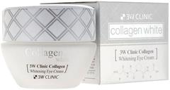 3W Clinic Collagen Whitening Eye Cream крем для кожи вокруг глаз с коллагеном
