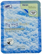 3W Clinic Fresh White Mask Sheet тканевая маска для лица с ниацинамидом