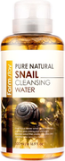 Farmstay Pure Natural Snail Cleansing Water очищающая вода с экстрактом муцина улитки