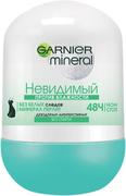 Garnier Mineral Невидимый против Влажности дезодорант-антиперспирант роликовый для женщин