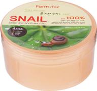 Farmstay Snail Moisture Soothing Gel 100% гель с экстрактом улитки