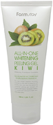 Farmstay All-in-One Whitening Peeling Gel Kiwi пилинг-гель с экстрактом киви