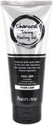 Farmstay Charcoal Toning Peeling Gel пилинг-гель отшелушивающий с углем