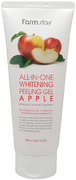 Farmstay All-in-One Whitening Peeling Gel Apple пилинг-гель с экстрактом яблока