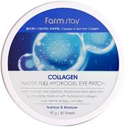 Farmstay Collagen Water Full Hydrogel Eye Patch патчи гидрогелевые для глаз с коллагеном