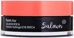Farmstay Salmon Roe & Peptide Hydrogel Eye Patch патчи для глаз с экстрактом икры лосося и пептидами