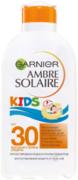 Garnier Ambre Solaire Kids SPF30 молочко для детей увлажняющее солнцезащитное