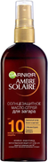 Garnier Ambre Solaire с Маслом Карите SPF солнцезащитное масло-спрей для загара