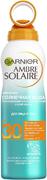 Garnier Ambre Solaire Солнечная Вода SPF30 освежающий солнцезащитный спрей-вуаль для лица и тела