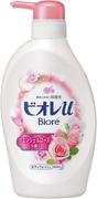 Biore U жидкое пенное мыло с нежным ароматом розы