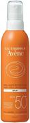 Avene Spray SPF50+ солнцезащитный спрей для чувствительной кожи