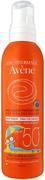 Avene SPF50+ спрей солнцезащитный детский