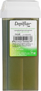 Depilflax 100 Olive теплый воск для депиляции в картридже оливковый (прозрачный)