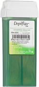Depilflax 100 Aloe Vera теплый воск для депиляции в картридже алоэ вера (прозрачный)