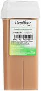 Depilflax 100 Capuccino теплый воск для депиляции в картридже капучино (плотный)