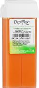 Depilflax 100 Carrot теплый воск для депиляции в картридже морковь (плотный)