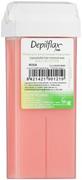 Depilflax 100 Rosa теплый воск для депиляции в картридже розовый (плотный)