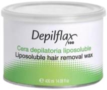 Depilflax 100 Liposoluble Hair Removal Wax теплый воск в банке натуральный