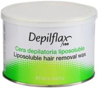 Depilflax 100 Liposoluble Hair Removal Wax теплый воск в банке розовый