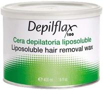 Depilflax 100 Liposoluble Hair Removal Wax теплый воск в банке шоколадный