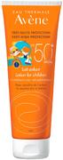 Avene SPF50+ молочко солнцезащитное детское