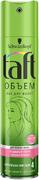 Тафт Объем лак для тонких волос сверхсильной фиксации