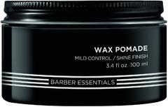 Redken Brews Wax Pomade помада-воск для укладки легкой степени фиксации мужская