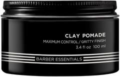 Redken Brews Clay Pomade помада-глина для укладки сильной фиксации мужская