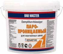 Bau Master Паропроницаемый герметик для монтажных швов акриловый