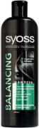 Syoss Balancing с Экстрактом Женьшеня шампунь для всех типов волос и кожи головы