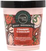 Organic Shop Body Desserts Strawberry & Chocolate мусс для тела увлажняющий