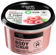 Organic Shop Organic Raspberry & Sugar Body Polish Малиновые Сливки скраб для тела