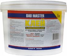 Bau Master клей для декоративных стеклотканей и синтетиических обоев