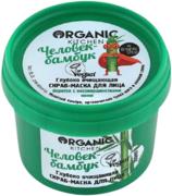 Organic Shop Organic Kitchen Человек-Бамбук скраб-маска для лица глубоко очищающая