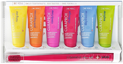 Curaprox Be You Mix Set/Ultra Soft Smart набор (зубные пасты с 3 лет + зубная щетка с 5 лет)