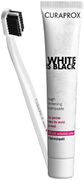 Curaprox White is Black/5460 Ultra Soft набор (зубная паста + зубная щетка)