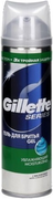 Gillette Series гель для бритья увлажняющий с маслом какао